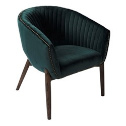 Brody Armchair, H81 x W70 x D68cm, emerald