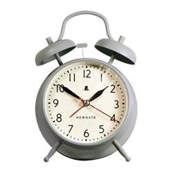 The New Covent Garden Wall clock, 17 x 11.7 x 5.5cm, overcoat grey