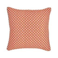 Penzance Cushion, 45 x 45cm, tangerine