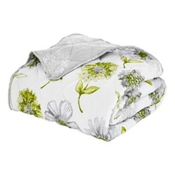 Banbury Floral Bedspread, 220 x 230cm, green