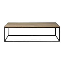 Carter Large coffee table, L160 x D85 x H45cm, dark vintage oak
