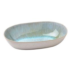 Ibiza Medium oval bowl, L32 x W19 x H7cm, sea