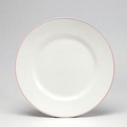Dessert plate, 21cm, blush/white