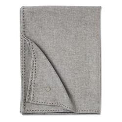 Suo Throw, 200 x 145cm, soft grey/stone brown