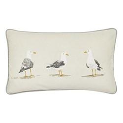 Sailor Cushion, L50 x W30cm, dove grey