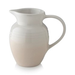 Stoneware Breakfast jug, 600ml, meringue