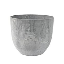 Bola Plant pot, H29 x D33cm, Grey
