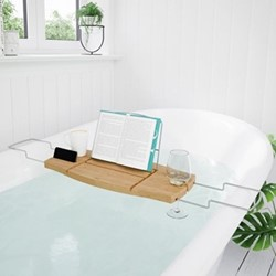 Aquala Bathtub caddy, 71 x 22 x 4cm, natural