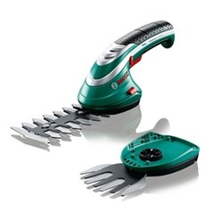Isio III Shape & Edge Cordless trimming system, 3.6V Lithium-ion battery, green