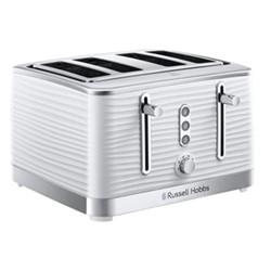 Inspire 4 Slice Toaster, white
