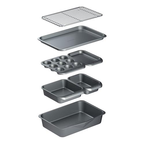 Smart Space 7 piece bakeware set, non-stick