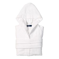 Brixton Bath robe, Large, white