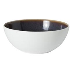 Art Glaze Bowl, D13 x H5cm, pressed mulberry