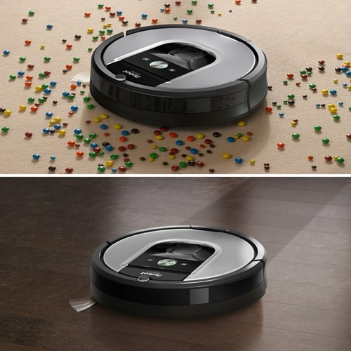 Roomba Robotic vacuum cleaner - R965 Voucher, black