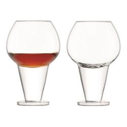 Rum Pair of tasting glasses, 290ml, clear