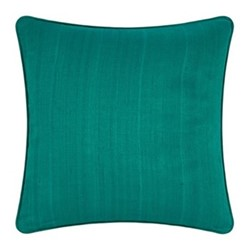 Silk cushion, 45 x 45cm, jade