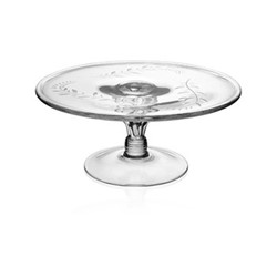 Country - Jasmine Cake stand, 30.5cm, clear
