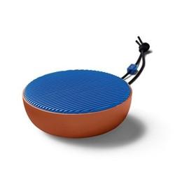 City Portable speaker, H4 x W10.5cm, terracotta blue