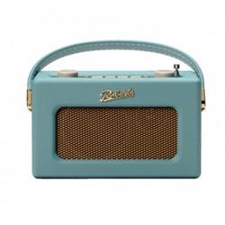 Revival Uno DAB/DAB+/FM digital radio with alarm, H14 x W21 x D9cm, duck egg
