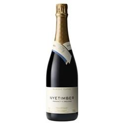 Case of Nyetimber classic cuvee English sparkling wine, 6 bottles
