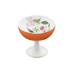 Tresor Fleuri Sundae cup, D11.8 x L10.5cm, orange
