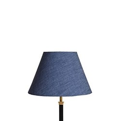 Empire Lampshade, 30cm, deep sea chambray
