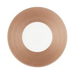 Hemisphere Dinner plate, Dia27cm, pink metallic