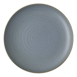 Nature Dinner plate, Dia27cm, water blue