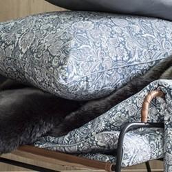 Sauvage Cushion cover, W50 x L70cm, blue