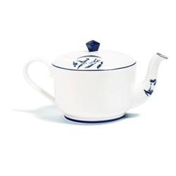 Details From Willow Medium teapot, H11.5cm - 660ml, cobalt