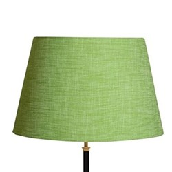 Straight Empire Lampshade, 50cm, apple chambray