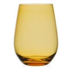 Atlantic Water glass, 11.5cm - 400ml, amber