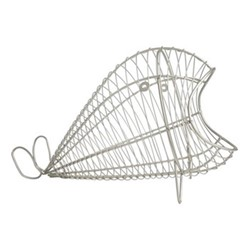 Ocean Wire basket, W17 x L31cm, satin grey