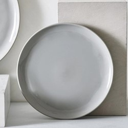Portobello Dinner plate, Dia28cm, grey