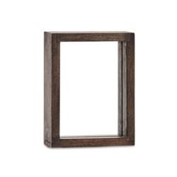 """Indu Standing wooden frame, 6 x 8"""", dark brown"""