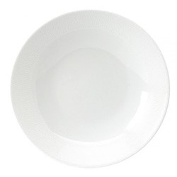 Seychelles Deep cereal plate, 19cm, white