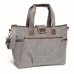Tote style changing bag, panama grey