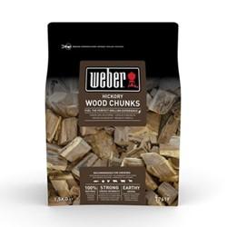 Hickory wood chunks, 1.5kg