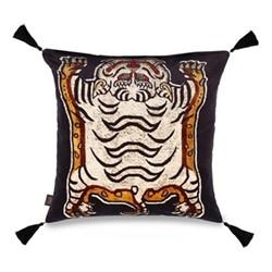 Tigris Cushion, 60 x 60cm, black