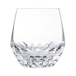 Folia Medium tumbler, H10 x D9.8cm, clear crystal