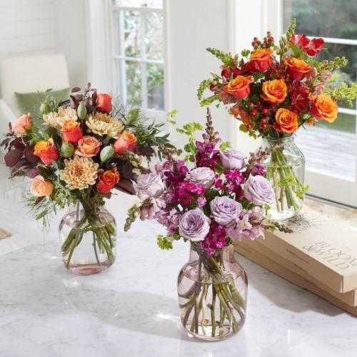 Regular Letterbox flower subscription, 3 months