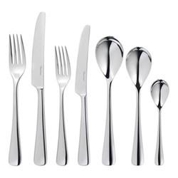 Malvern Bright 7 piece cutlery set, stainless steel