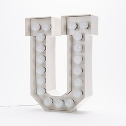 Vegaz U Letter light, H60cm