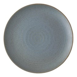 Nature Side plate, Dia22cm, water blue