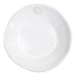 Nova Set of 6 soup/pasta plates, 25cm, white