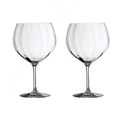 Elegance Optic Pair of gin balloons, H20cm - 60cl, clear