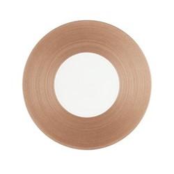 Hemisphere Dessert plate, Dia21cm, pink metallic