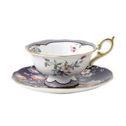Wonderlust - Crane Teacup and saucer, 15cl, midnight