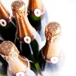 Case of sparkling Cremant from Burgundy, 6 bottles