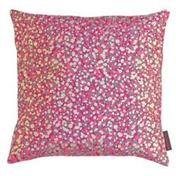Garland Cushion, 45 x 45cm, storm/hot pink/soft gold